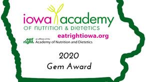2020 Gem Award