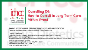 Consulting 101: Taking Steps to Help Prevent Being Involved in Litigation