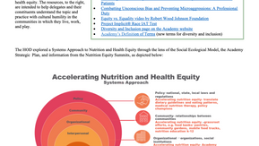 Fall 2020 House of Delegates Meeting Recap: A Systems Approach to Accelerating Nutrition and Health
