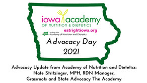 2021 Advocacy Day - Advocacy Update from Academy