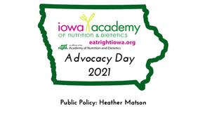 2021 Advocacy Day - Public Policy