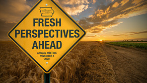 "2020 Annual Meeting ""Fresh Perspectives Ahead"" - Certificate of Attendance"