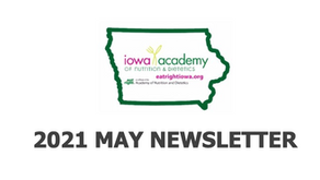 NEWSLETTER - May 2021
