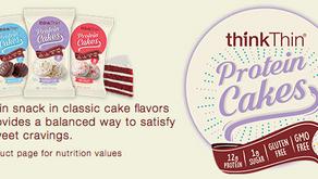 NEW thinkThin Protein Cakes