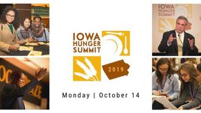 Iowa Hunger Summit - Oct 14