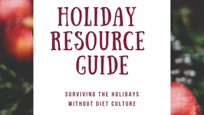 Surviving the Holidays without Diet Culture