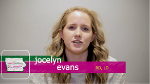 October 2020 Featured Member - Jocelyn Evans
