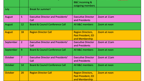 View & Download the 2021-2022 list of meetings & events