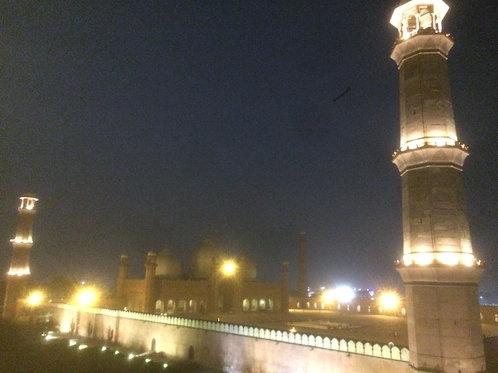 Dinner over Badshahi