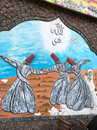 Wall of old Sharaqpur City