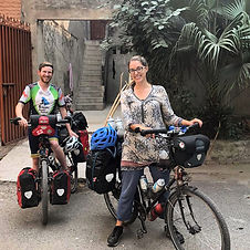 Cyclists at home lahore.JPG