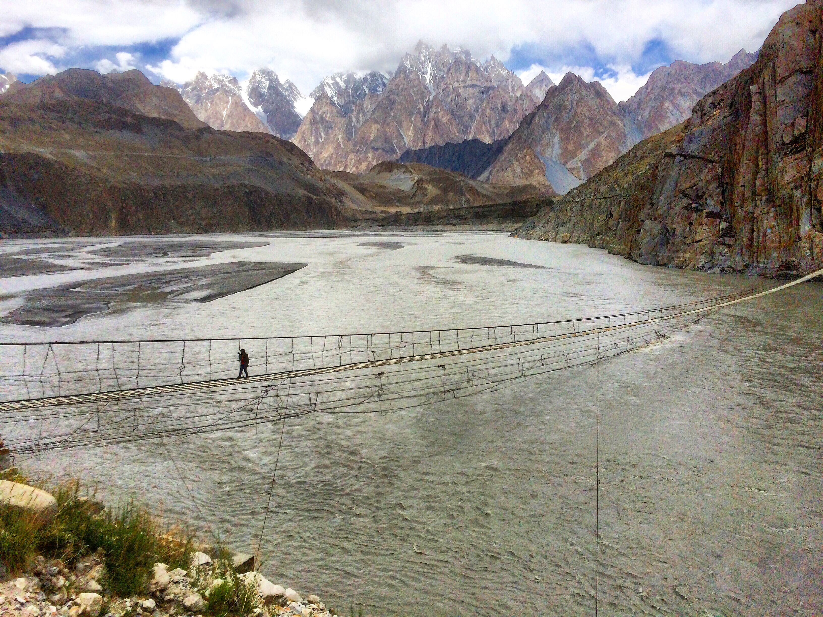 Hussaini Suspension Bridge, Hunza
