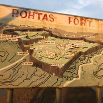 Map of the fort area