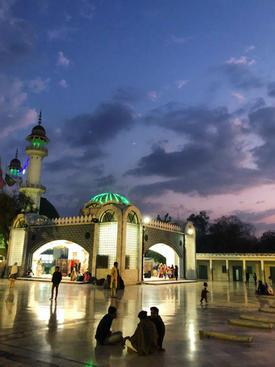Bulleh Shah Shrine sunset