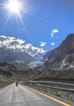 Passu glaciers