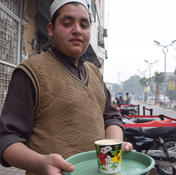 Chai served in the street