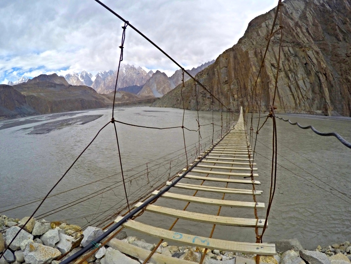 Hussaini Suspension Bridge