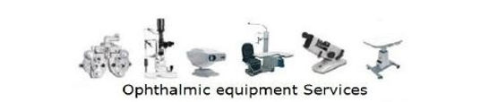 Ophthalmic equipment repair Phoropter cleaning Installations gfischer
