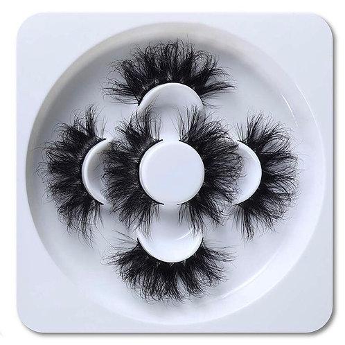 """Fluff"" 25mm lashes (3pair)"