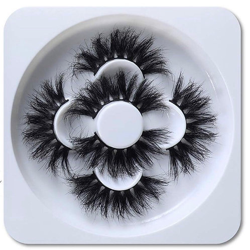 """25mm lashes """"Spice"""" (3 pairs)"""