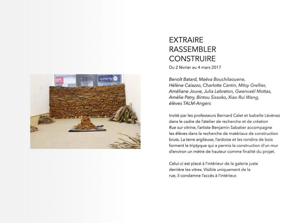 02/02/2017 - Extraire - Rassembler - Con