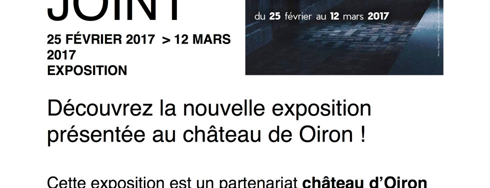 Page - Château d'Oiron - Actualités - The time is out of joint