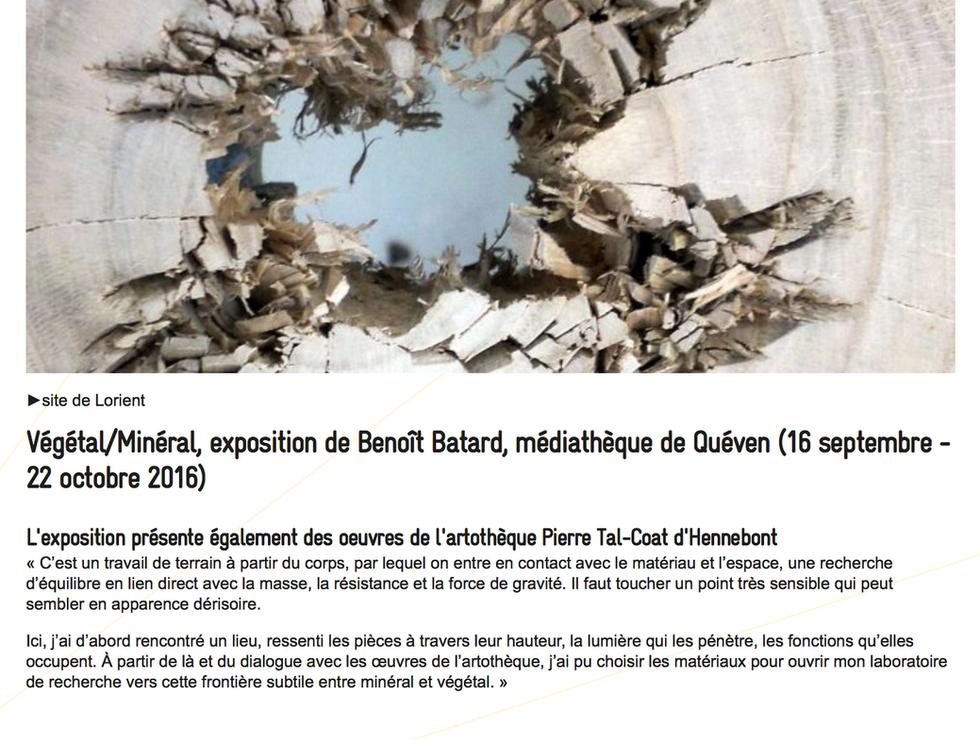 Page - Site de l'ESABB Lorient - Actualités - Book & d'Artistes