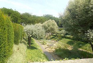 jardin gris au parc André Citroën