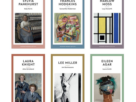 Sixth book in Modern Women Artists collection announced