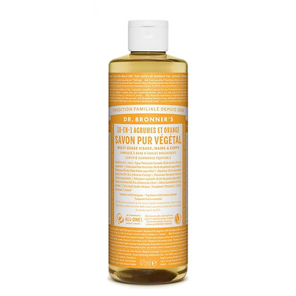 Savon Liquide Agrumes et Orange   DR BRONNER'S