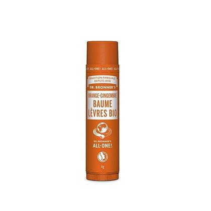 Baume à Lèvres Orange-Gingembre    DR BRONNER'S