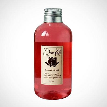 Shampoing Rose Délice et Miel   LOREN KADI