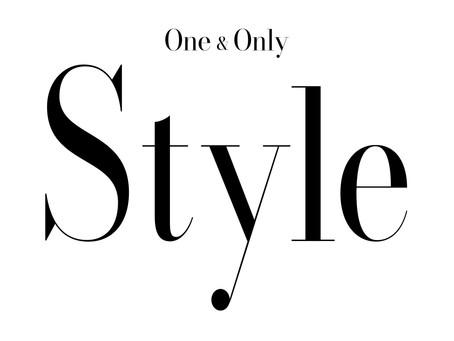 自社運営サイト One & Only  Style 更新しました