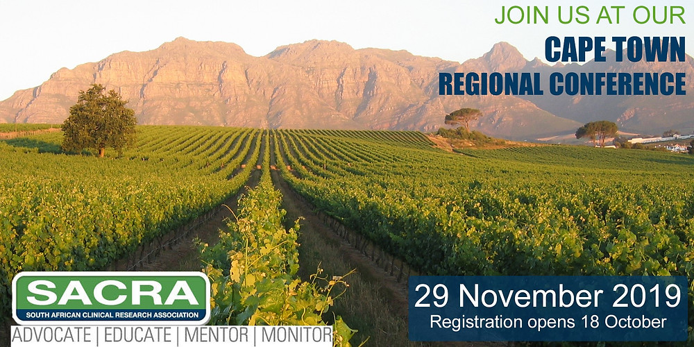 SACRA 29 November Cape Town Conference Agenda out!