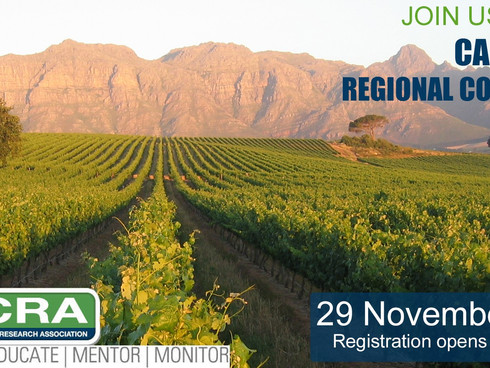 Cape Town Conference:                                                             Tomorrow: 29 Novem
