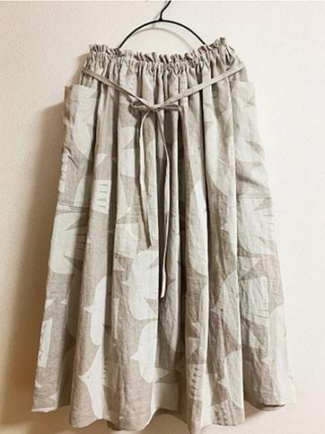 Birdテキスタイルスカート