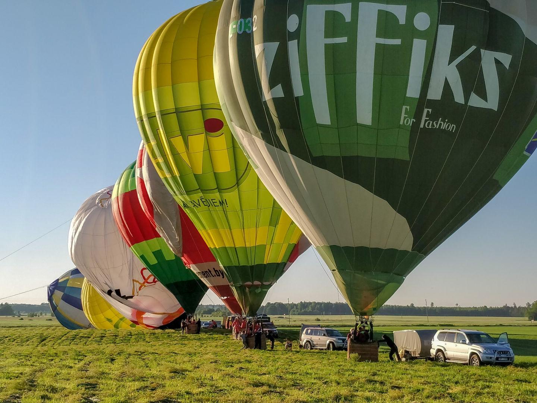 Gaisa baloni Siguldā