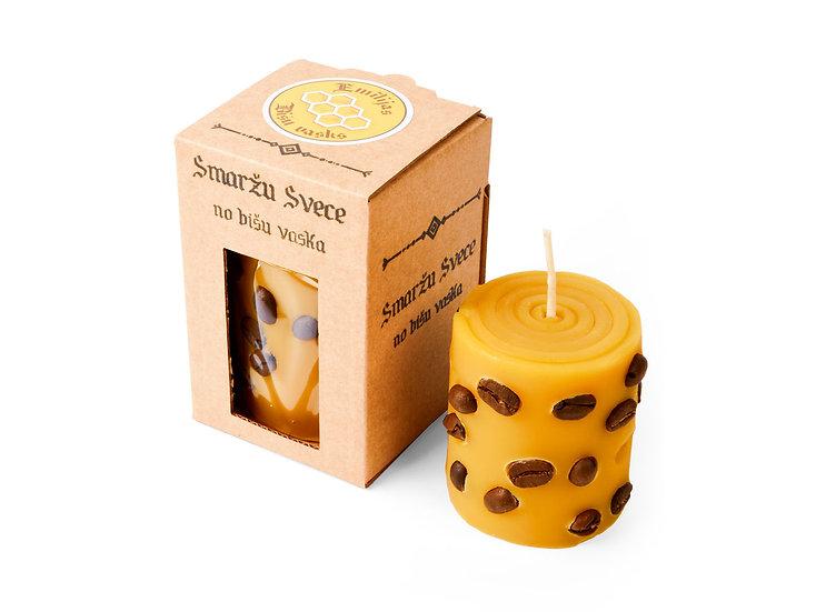 Smaržu svece ar kafiju