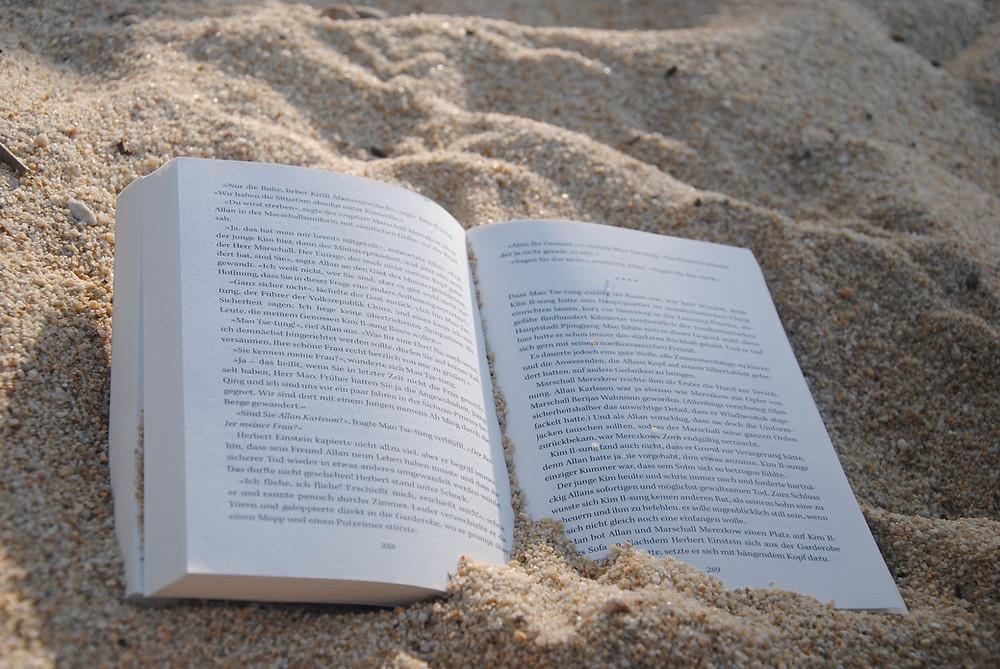 Libro spiaggia sabbia biografia - Il Tuo Biografo