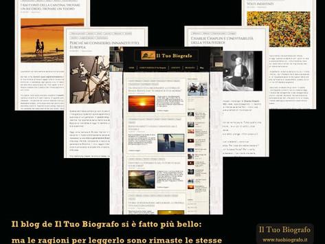 Il blog de Il Tuo Biografo si è fatto più bello