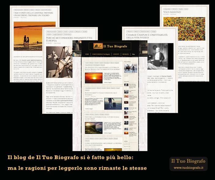 Blog Tuo Biografo Nuova veste grafica Nina Ferrari