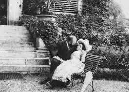 Un'immagine dei primi del Novecento di Giuseppe Primoli, il fotografo dell'aristocrazia italiana