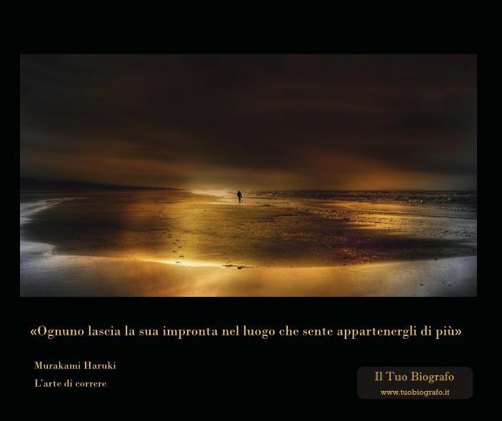 Citazione L'arte di Correre - Murakami - Il Tuo Biografo - Nina Ferrari