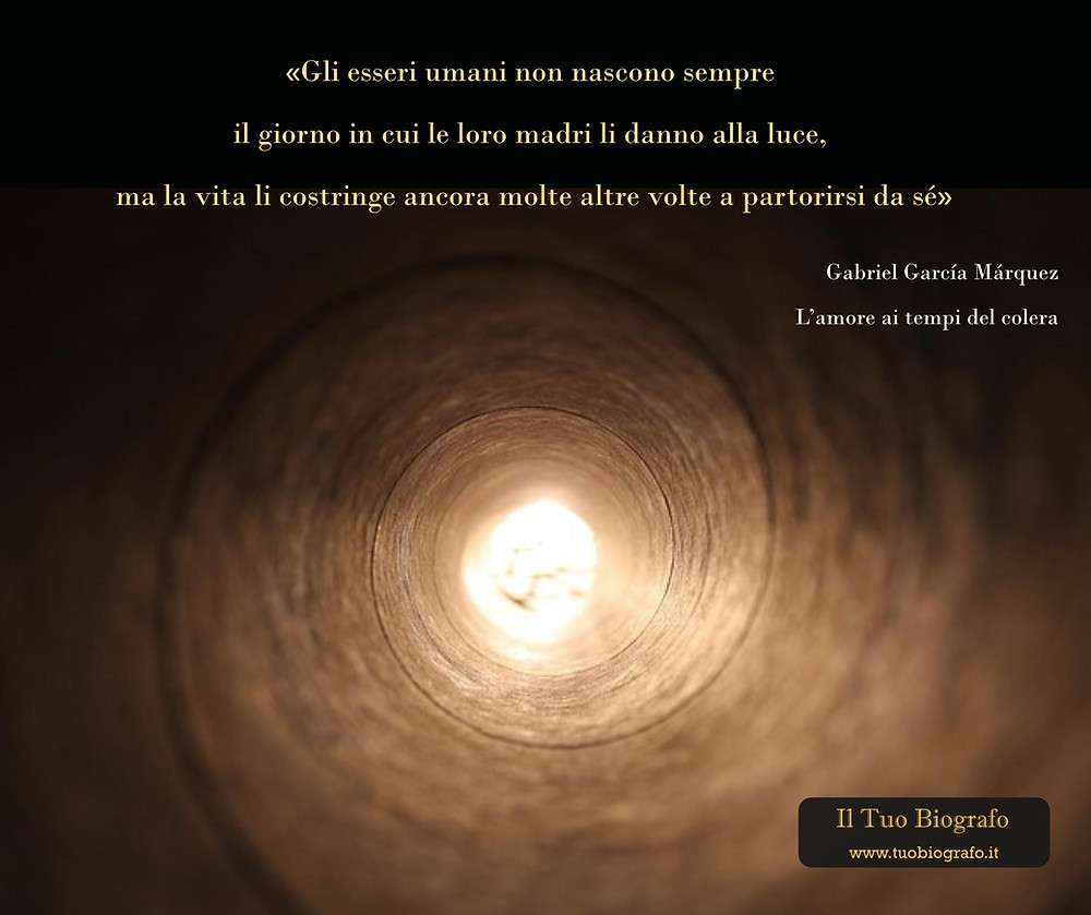 Gabriel Garcia Marquez - citazione - L'amore ai tempi del colera - Il Tuo Biografo