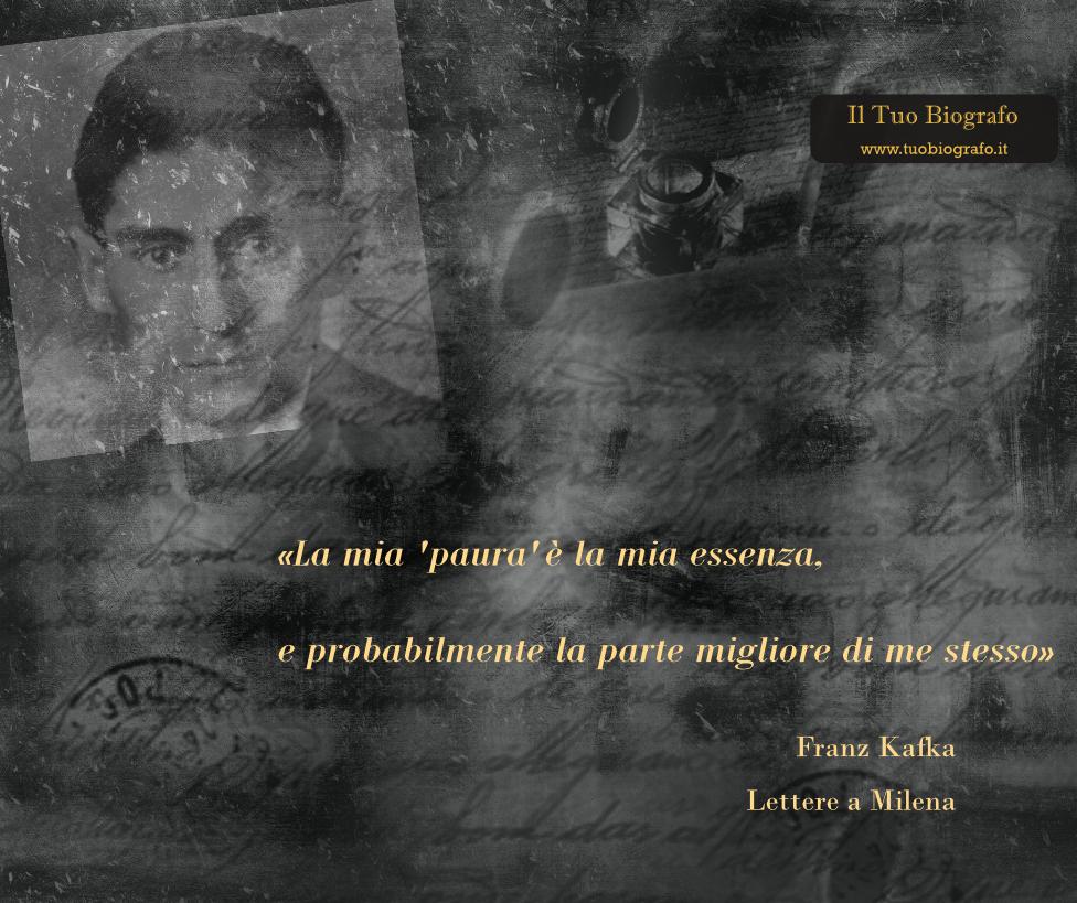 Lettere a Milena - Franz Kafka - citazione - Il Tuo Biografo