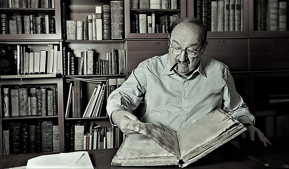 Umberto Eco memoria storia intervista biblioteca Il Tuo Biografo