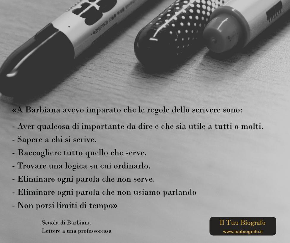 Scuola di Barbiana - Lettere a una professoressa - Il Tuo Biografo - Don Milani