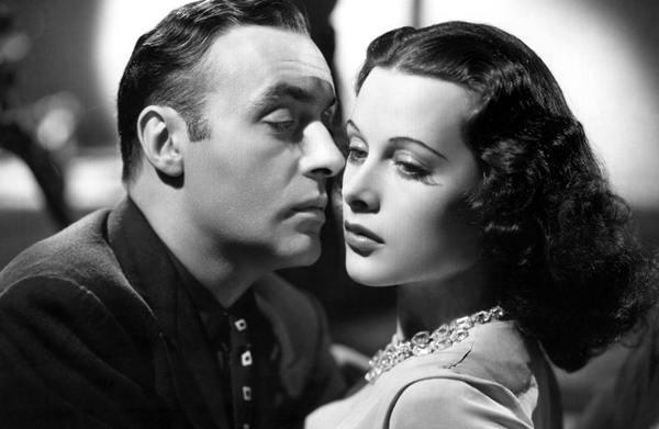Hedy Lamarr, Charles Boyer, Algiers, Un'americana nella Casbah, 1938, diva, Hollywood, Il Tuo Biografo