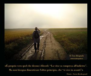 citazione Kierkegaard vita comprendere Il Tuo Biografo Diario