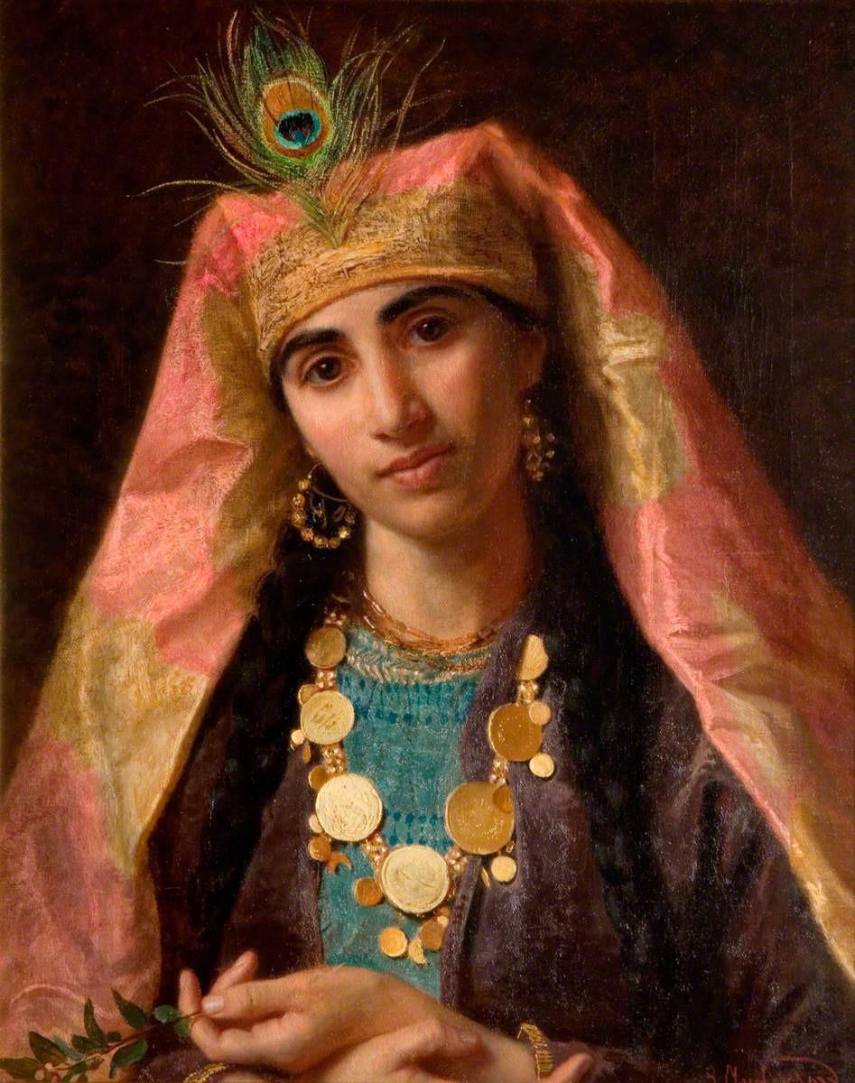 لوحة شهرزاد - للرسام صوفي أندرسون